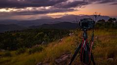 Nice view :) (lynamPics) Tags: sunrise landscape fuji australia townsville mtstuart fujix100t