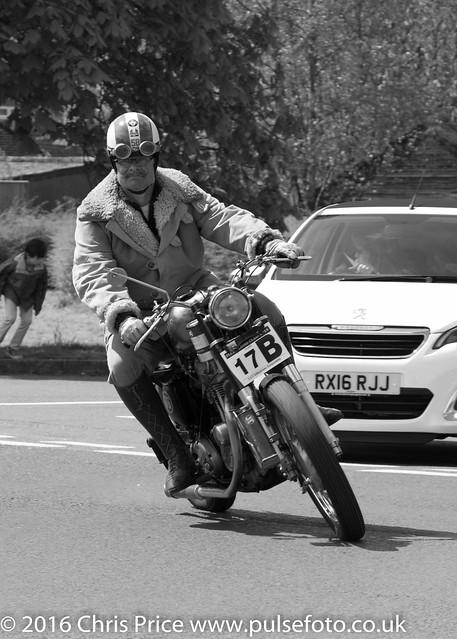 Fleet Lions Bike Rally 2016 5 x7 B&W