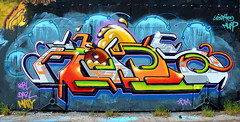 graffiti amsterdam (wojofoto) Tags: york holland amsterdam graffiti nederland ndsm wolfgangjosten wojofoto