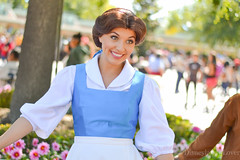 Belle (Disneyland_lover) Tags: disneyland disney belle beautyandthebeast maingate disneycastmembers disneyphotography disneyperformers