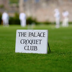 The Palace Croquet Club (The Green Album) Tags: game english traditional lawn balls wells somerset palace british bishops croquet immaculate quintessentially hotfuzz