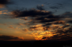 The inevitable ending (Captions by Nica... (Fieger Photography)) Tags: sunset sky clouds cloud sun sunlight sunbeam dusk nature quebec canada