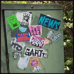 Graffiti stickers 2016 (mcknightpercy) Tags: slaptag stickerporn 228 handdrawn character moniker scribe graff create draw artists artist arts art adhesive unitedstatesofamerica marker photograph urban thimp evilletterscrew sticker 2016 pic photo color tags stickers graffiti