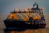 Al Wajbah (Richard_Turnbull) Tags: al wajbah lng bunkering ship lowlight night miraj anchored nikon d600 bunker fuel transfer shiptoship floodlight floodlit twilight