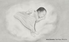 Cmo dibujar un beb - Un angelito (artedivierte) Tags: arte beb dibujo lapicero ngel recinnacido leonardopereznieto tutto3 artedivierte artistleonardo