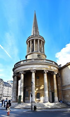 all souls (Harry Halibut) Tags: street london tower art clock church public portland all place images spire round column curve allrightsreserved langham sould londonbuildings londonarchitecture imagesoflondon colourbysoftwarelaziness publicartinlondon 2016andrewpettigrew london1604271451