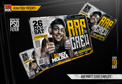 Rap Party Flyer Template (AndyDreamm) Tags: street city party urban music white money black texture club night underground graffiti artist dj grunge whisky hiphop rap friday rappers speakers template fridays