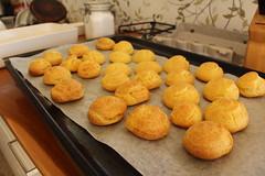 Choux Pastry (worldpinners) Tags: woof dessert cream puff australia pastry crema choux pate geraldton whv woofing pasticcera helpx workingholidayvisa worldpinners