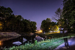 West Hartford, CT. (alecanal93) Tags: longexposure nightphotography light sky lightpainting nature night canon lights rocks alone purple 5d canon5d sars markiii canonlove canonlover canon5dmarkiii 5dmarkiii
