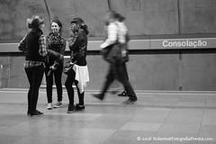 So Paulo, 2016. Metr / Metro /  / U-Bahn / Mtro /  /  / Subway. (roberto.historia) Tags: brazil blackandwhite station brasil subway movement pessoas saopaulo sopaulo movimento consolao persons pretoebranco metr estao 2016 fotografiapoeticacom