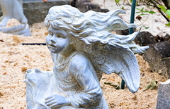 20160521-DSC_0823 (Kaiguin17) Tags: grave statue angel yard headstone cemetary corinth area cherub recreation
