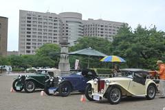 BCCM16067 (tanayan) Tags: park classic car nikon automobile meeting mg nagoya british midget j1 td    tsuruma