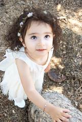 Gianna_0085 (Ciara*) Tags: girl kid toddler smiles cutie niece sunflower