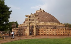Sanchi Stupa- Maybe worth a look in large (mala singh) Tags: india history monument architecture stupa buddhism bhopal sanchi