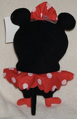 Uglydoll Rare Prototype in Minnie Costume and Babo Bird-  David Horvath (jcwage) Tags: giantrobot disney ox prototype sample uglydoll rare waltdisney icebat babo jeero wedgehead minnimouse davidhorvath sunminkim oneofkind uglycon babobird