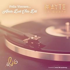 Disfruten este viernes escuchando Anide Doli Vido Dili (Yo soy tu amor t eres mi amor) de La Reina del Like Arranquen el fin de semana llenos de buena msica! (MayteLaGuapa) Tags: cantante artista cancion musica like reina latina estrella blog instagram