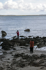 Islay 2016 2 (23) (Yorkshire Reckless & Proud) Tags: blue shadow sea people musician cloud sun lighthouse black bird beach birds silhouette vw landscape scotland boat ship harbour cottage sails tent islay seal duster van camper distillery orsay bowmore bruichladdich dacia