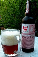 Stiegl Zuckergoscherl (che1899) Tags: bier beer stiegl zuckergoscherl ale redale karamell