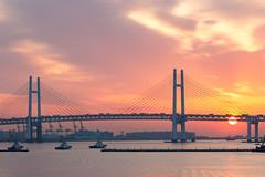 IMG_2085 (JIMI_lin) Tags: japan sunrise tokyo explore jp   yokohama kanagawa sakuragicho   kanagawaken yokohamashi yokohamainternationalpassengerterminal