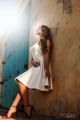 Into The Light (Nick D'Ancona Photography) Tags: wedding sun hot sexy fun photography model malta flare gir frankdoorhof nostrobistinfo removedfromstrobistpool seerule2