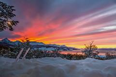 Amanecer en Ushuaia - HDR 1 (Jos M. Arboleda) Tags: patagonia argentina canon ushuaia eos nieve jose paisaje amanecer 5d hdr arboleda ef24105mmf4lisusm josmarboledac marlkiii