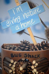 Giving Nature a Home on the RSPB Stand