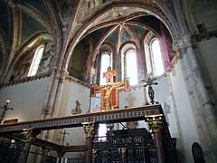 Presbytery (end 13th century) - Santa Chiara Church at Assisi (* Karl *) Tags: italy church assisi umbria