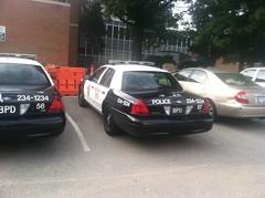 Berea Police Department - Ford Crown Victoria Police Interceptor [3] (Sergiyj) Tags: ohio ford sedan police victoria crown emergency interceptor berea 2013