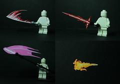 Elemental Weapons #2 (TheCampervanTom) Tags: star artwork lego lightsaber wars custom