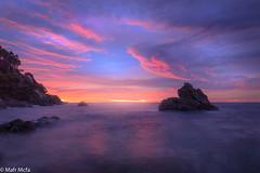 _81C4035.jpg (Mafr-Mcfa) Tags: mar amaneceres mediterrneo nubes calaelsfrares costabrava lloretdemar cielos gerona espaa rocas