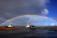 Albany Rainbow June 2016 (AdamsWife) Tags: rain weather boats boat rainbow albany vehicle tugboat westernaustralia tugboats