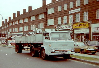 London Transport Ford D 1666F EGN742J series Honeypot lane summer 1979