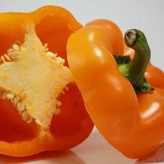 242/365 Orange (hey ~ it's me lea) Tags: orange pepper vegetable seeds crispy veggie dailyphoto crunchy 52 orangepepper 365project 52weeks52words