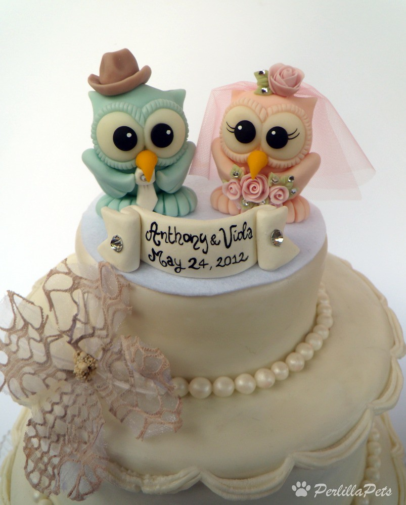 The Worlds Best Photos By PerlillaPets Flickr Hive Mind - Owl Wedding Cake