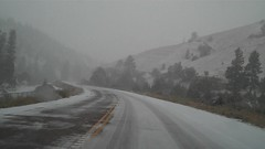 Why I skipped Bryce Canyon and Zion (lhboudreau) Tags: brycecanyon utah statehighway12 hwy12 highway12 route12 snow snowstorm nationalpark nationalparks grandcircle tour trip road video dashcam dashboardcamera americansouthwest southwest music highway springsnow storm snowy stormy outdoor roadtrip redrock tunnel tunnels