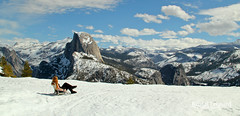 Spoiled in Yosemite! (Kristal Leonard) Tags: winter yosemite glacierpoint yosemitewinter yosemitesnow