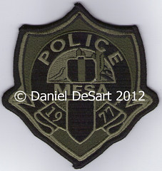"""Mesa Police (Current Bomb Squad) (bloo_96 """"Daniel DeSart"""") Tags: arizona public leo safety special le law enforcement patch emergency patches tactics swat weapons response unit subdued tactical ensignia responce insgnia"""