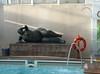 cruise ship largesse (Barbara A. White) Tags: pool statue women cruiseship rubenesque