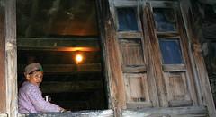The Woman & The Cottage (Monsoon Lover) Tags: life woman india flickr cottage age himachal kalpa wodenhouse kinnur sudipguharay himachalicap itravelalone europeantouristsstayinkalpaforanight ganjaplantsgrowlikeweedshere theypluckandcollectinhandbag