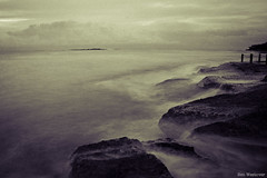 Grainy Dream (Ben Westover) Tags: longexposure beach water rocks sydney dream australia coogee splittone