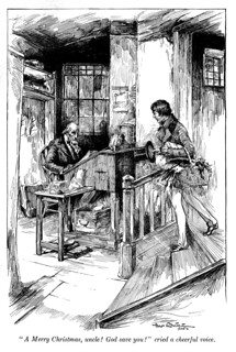 A Christmas carol and The cricket on the hearth (1905)