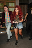 Jesy Nelson of Little Mix, at the Rose Club for Tulisa Contostavlos No.1 party for her hit song 'Young' London, England