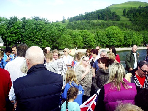 Luss on 9th June 2012 for Olympic flame
