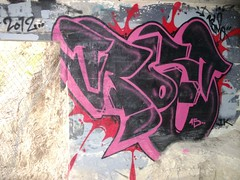 Lock Down (Forty Fiver) Tags: new art four graffiti banksy 45 canvas auckland zealand chrome crew ik forty fiver garff