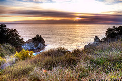 A-Happy-Place (ulicesdeltoro) Tags: ocean road trip sunset sky mountains beach beautiful clouds canon landscape photography coast high highway rocks view dynamic pacific scenic roadtrip pch range hdr deltoro 50d ulices deltorophoto