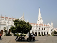 San Thome Basilica (Rajesh_India) Tags: india church san sony chennai apostel thome santhomechurch