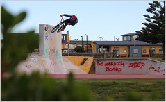 Vert Wall (DamoColbeck) Tags: wall fun bmx ride vert tasmania callum devonport ridebmx polden