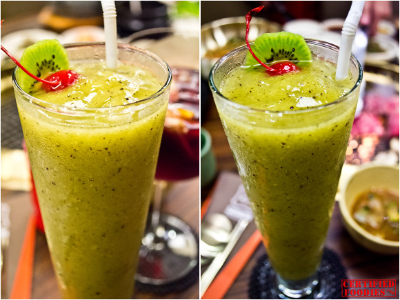 Sariwon's Kiwi Fresh Fruit Shake