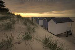 more bloody beach huts!! (~ jules ~) Tags: sky beach clouds reeds julian nikon crab marshall tokina hut jules beachhuts hdr wellsnextthesea beachut northnorfolk 1116mm d300s