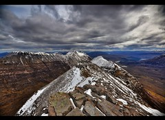 Liathach - Torridon Scottish Highlands (Michael~Ashley) Tags: mountains scotland highlands nikon scottish hills torridon munro liathach d3100